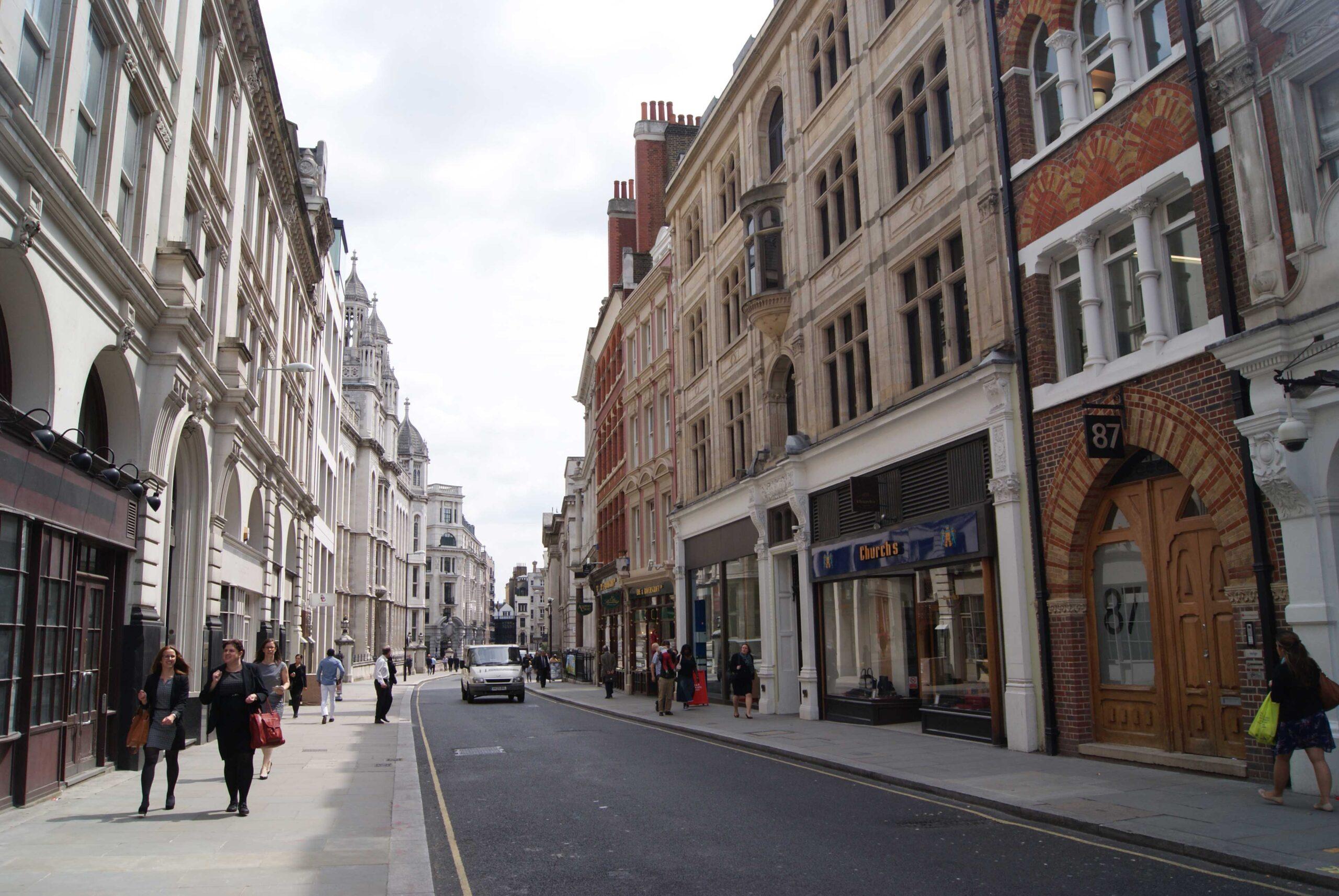 Chancery Lane In London